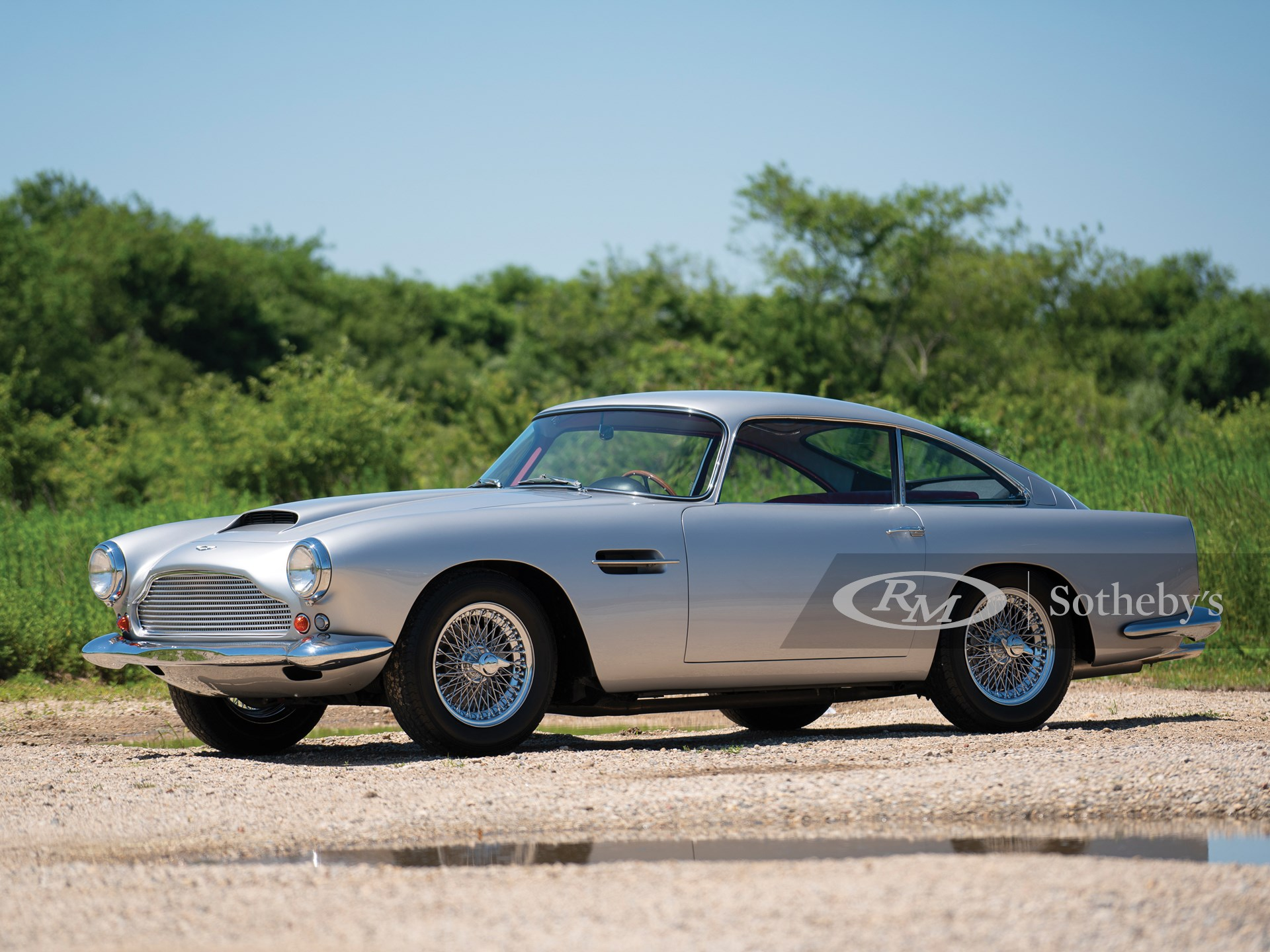 1960 Aston Martin Db4 Series I Monterey 2019 Rm Sotheby S