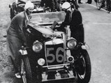 1934 MG PA/B Le Mans  - $Final preparations being made before the beginning of the 1935 Le Mans race.
