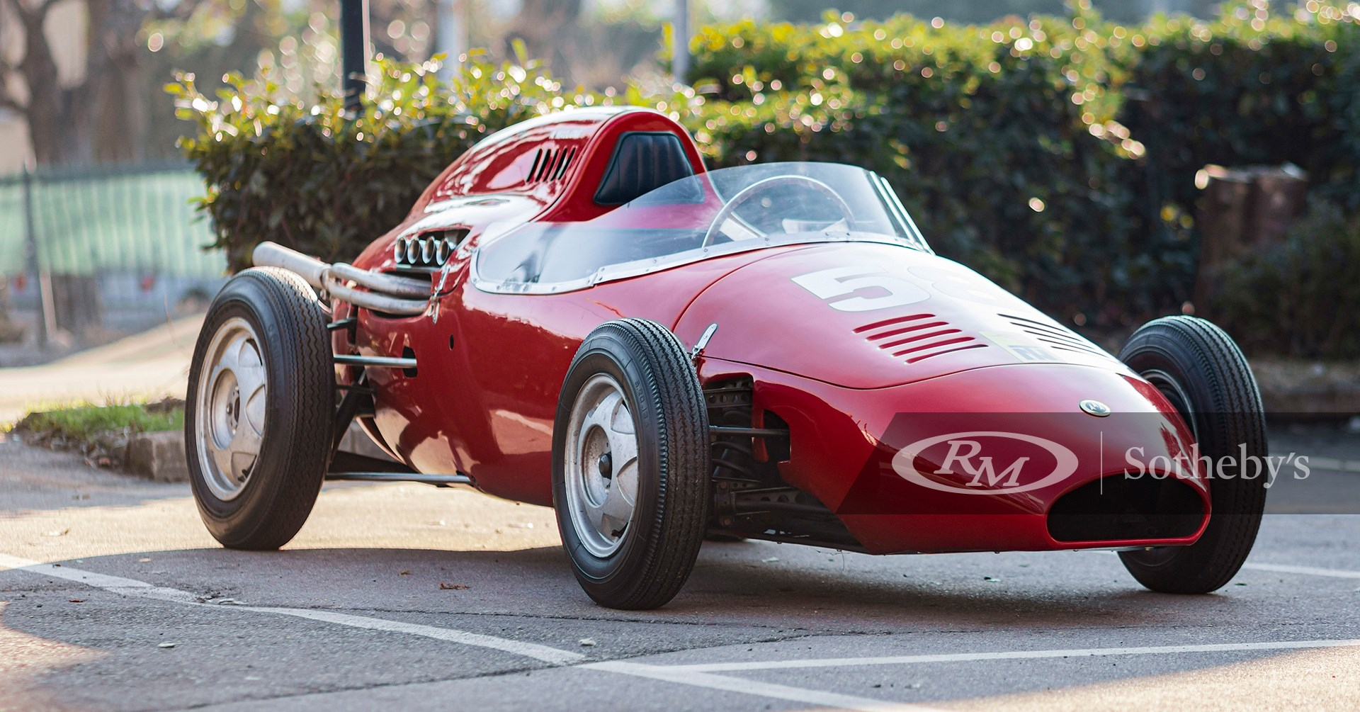 1958 De Sanctis Formula Junior available at RM Sotheby's Online Only Open Roads February Auction 2021
