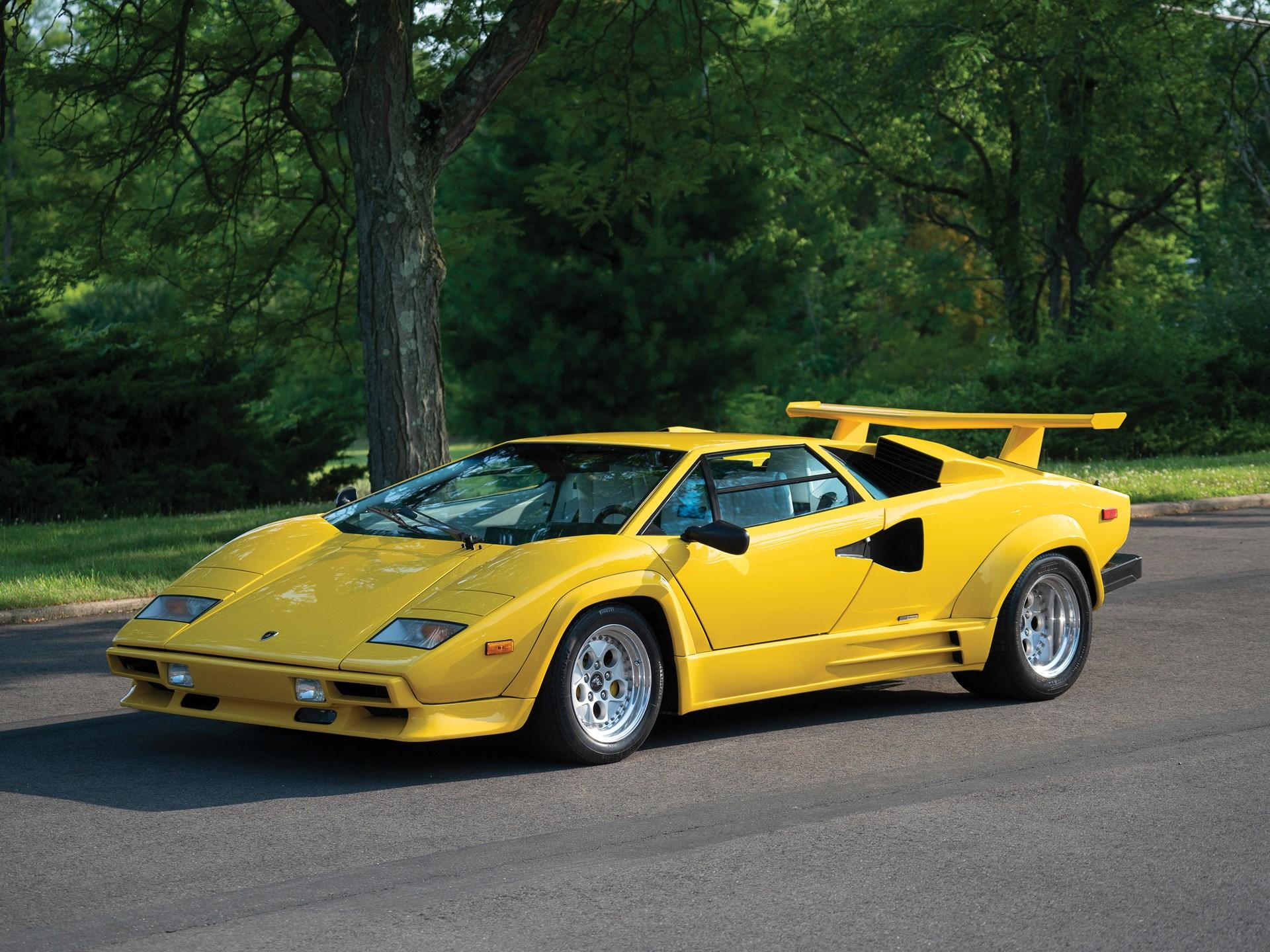 Rm Sotheby S 1988 Lamborghini Countach 5000 Qv By Bertone