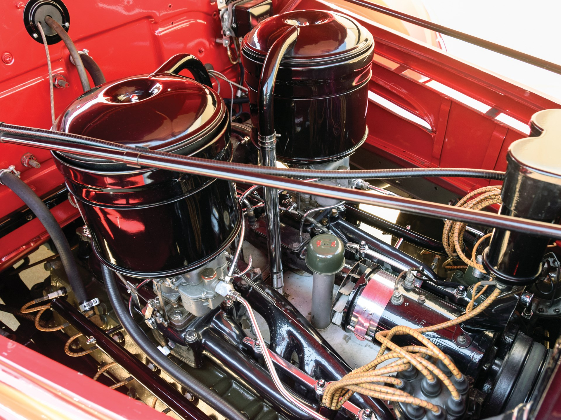 1938 Cadillac V-16 Convertible Coupe by Fleetwood