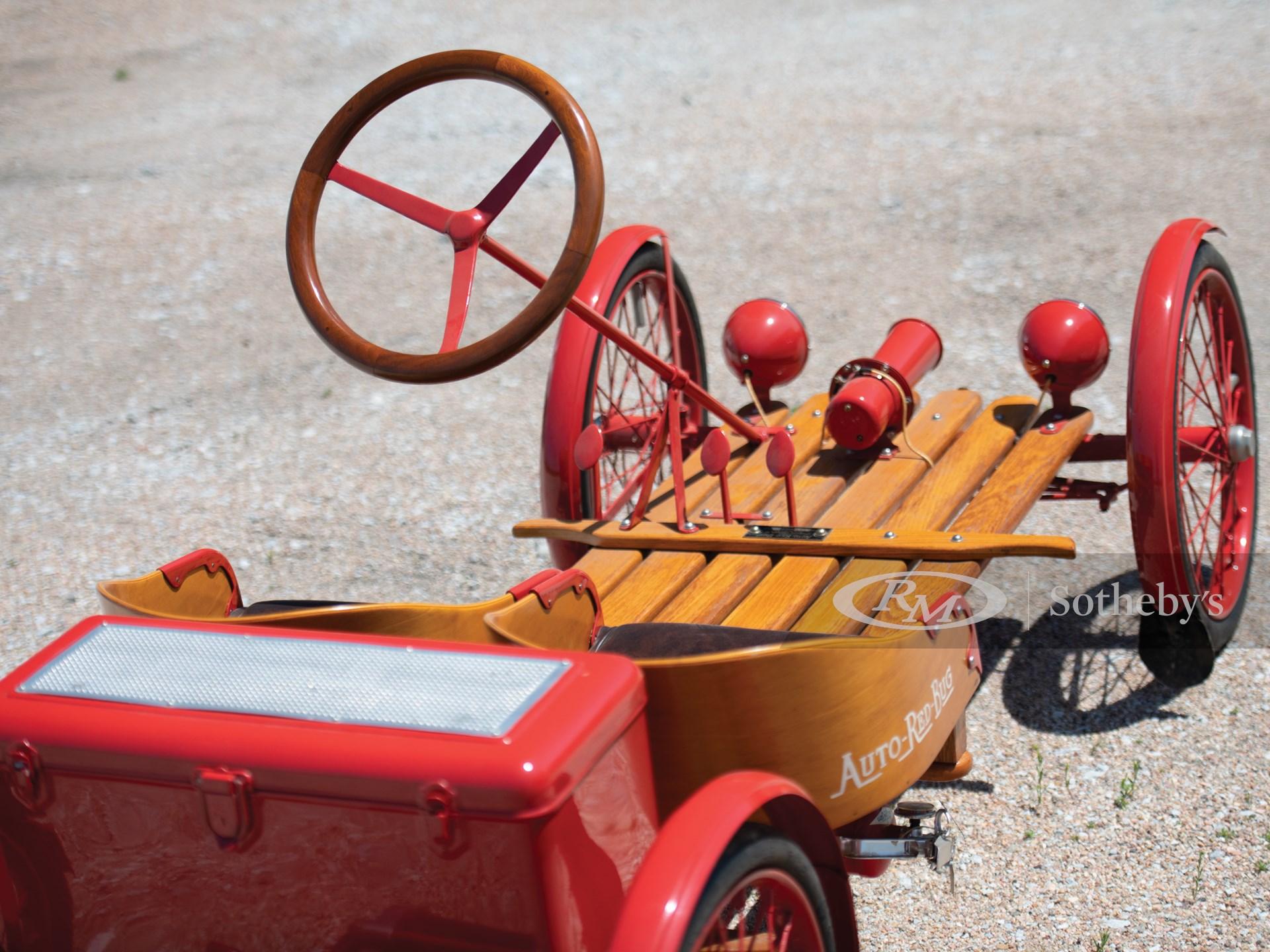 1924 Red Bug Buckboard Motorette  -