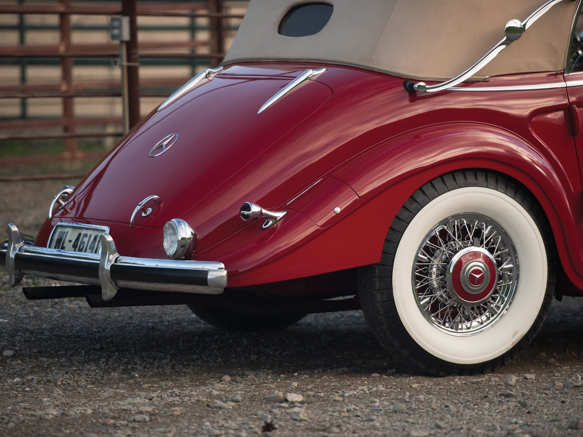 1939 Mercedes-Benz 540 K Spezial Cabriolet A by Sindelfingen