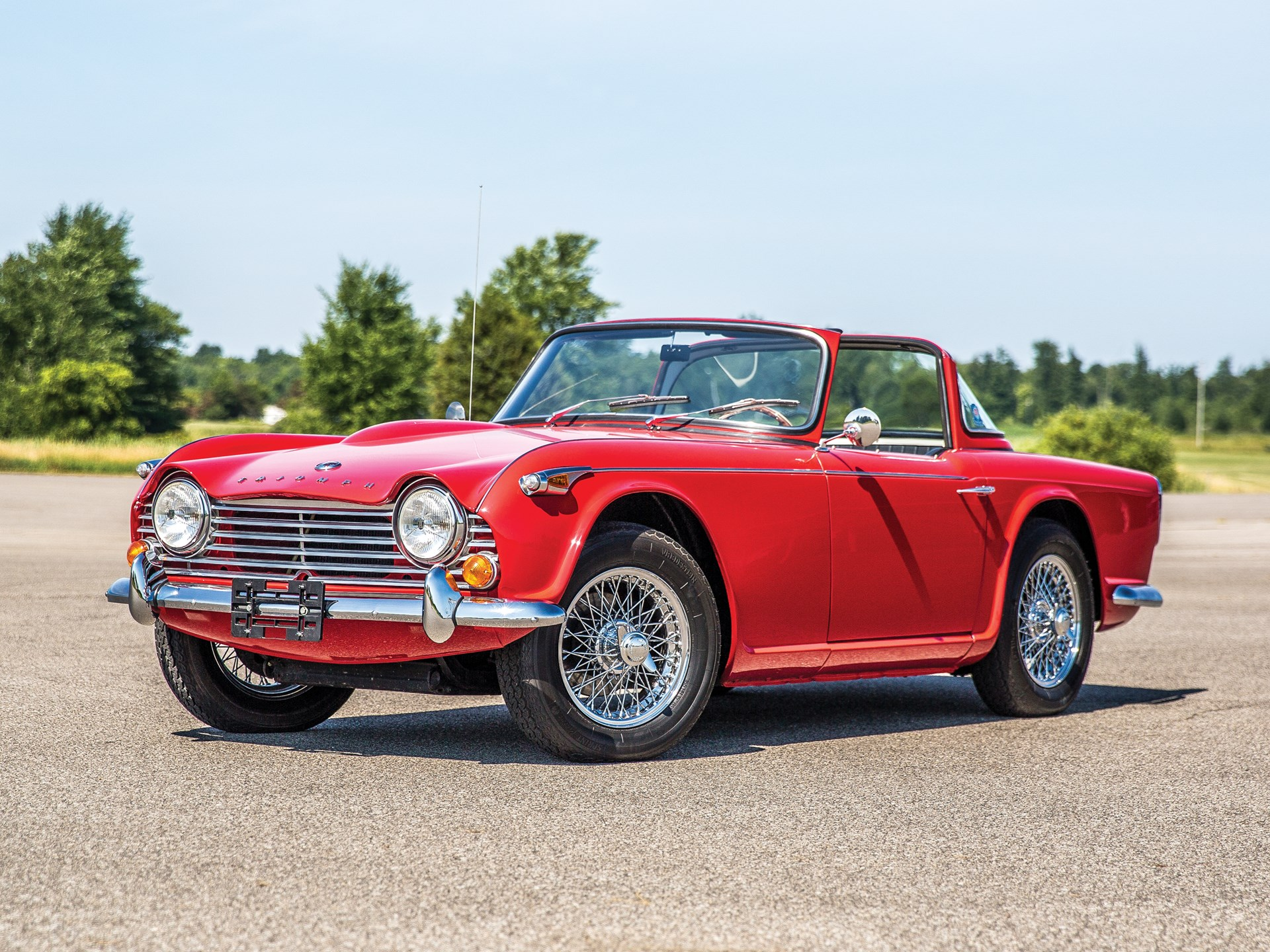 RM Sotheby's - 1966 Triumph TR4A   Hershey 2018