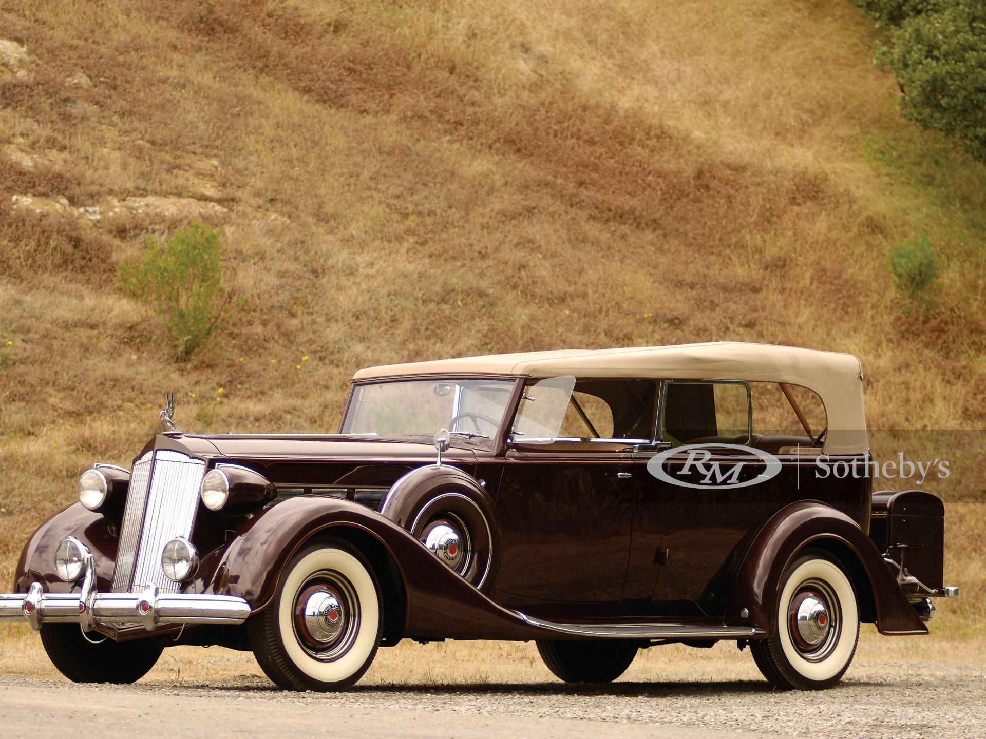 1937 Packard Super 8 Dual Windshield Phaeton