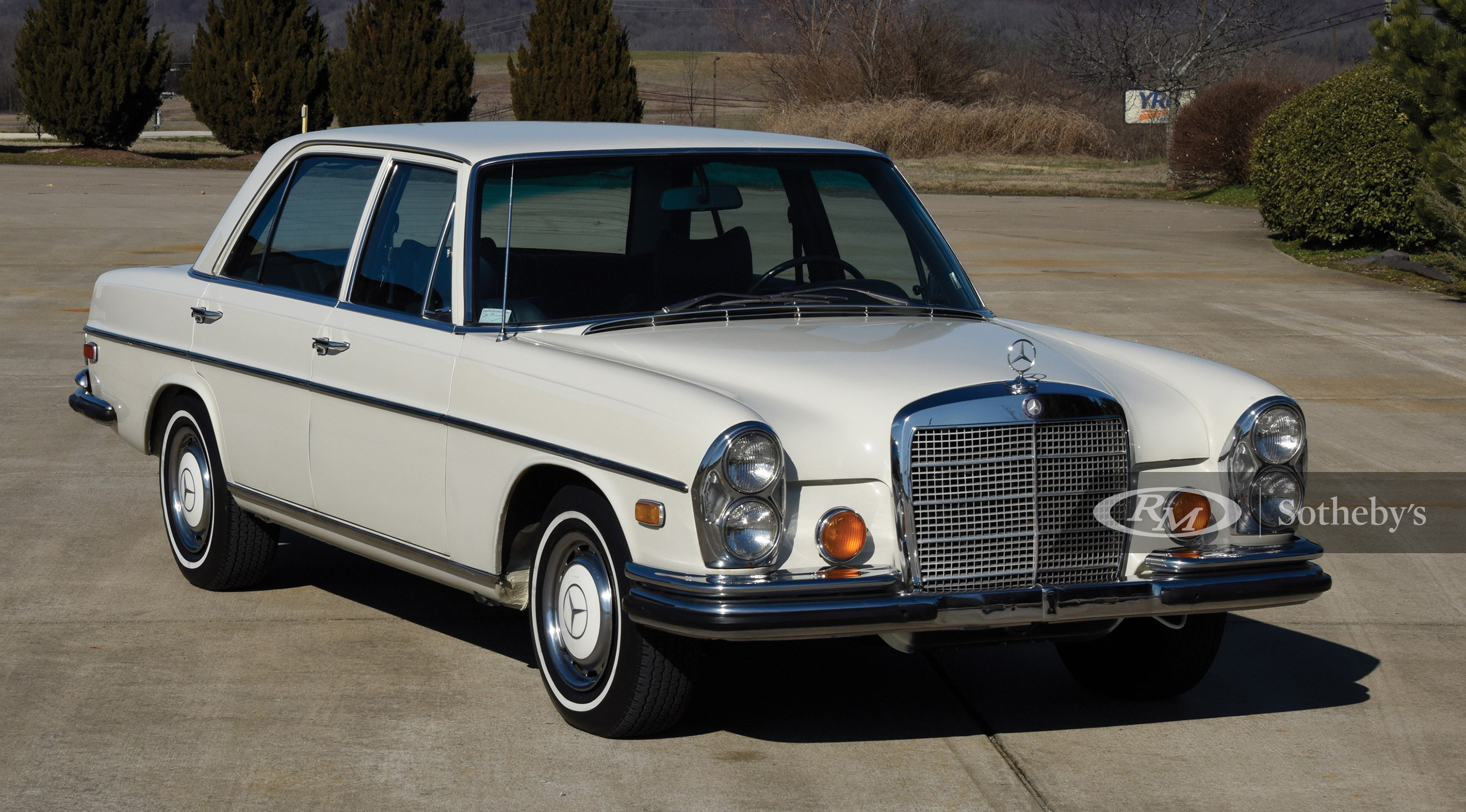 RM Sotheby's, 1973 Mercedes-Benz 280 SEL 4.5