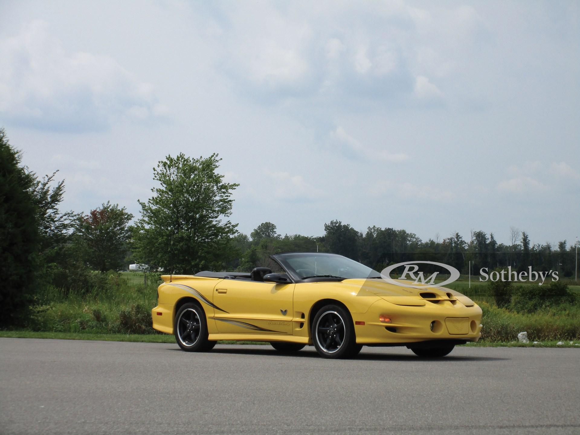2002 Pontiac Firebird Trans Am 35th Anniversary Collectors Edition