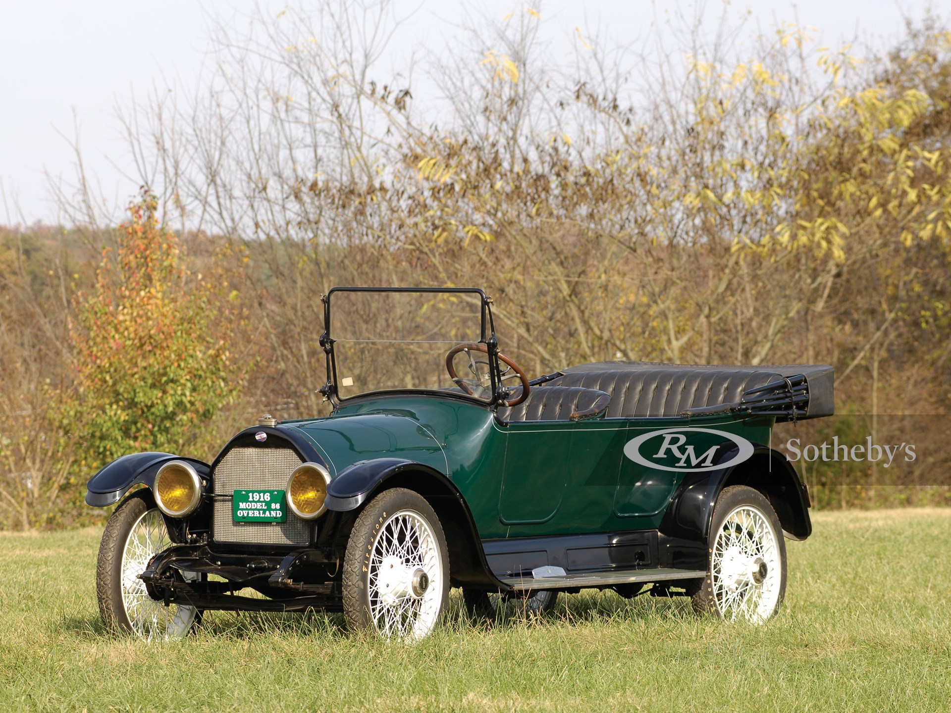 1916 Overland Model 86 Touring