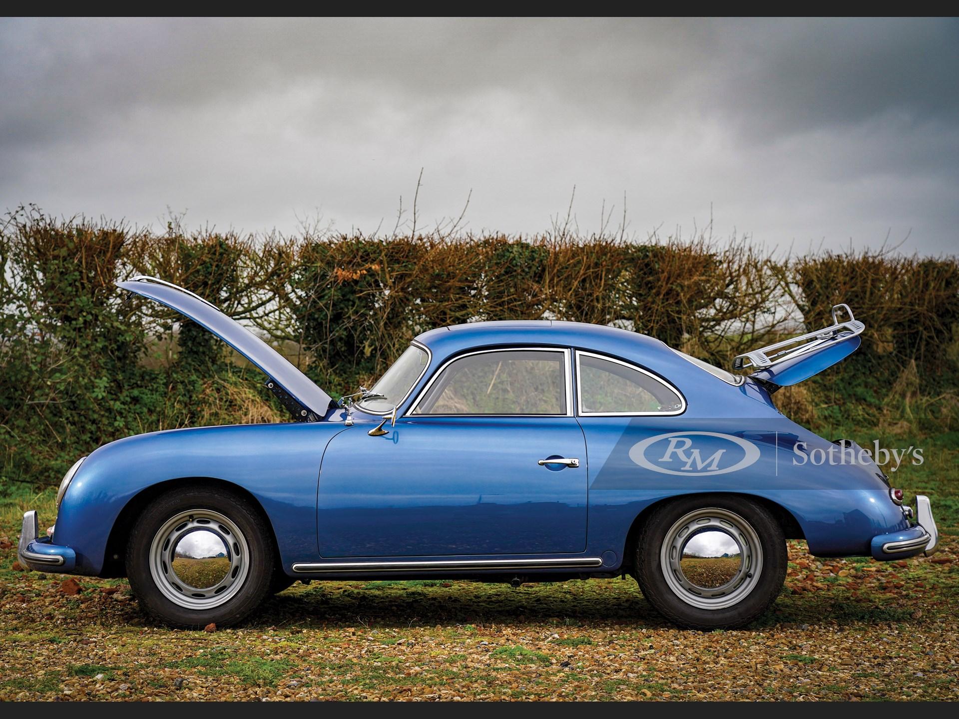 1956 Porsche 356 A 1600 Coupé by Reutter