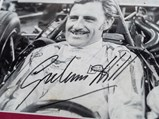 Graham Hill Signed Photograph - $