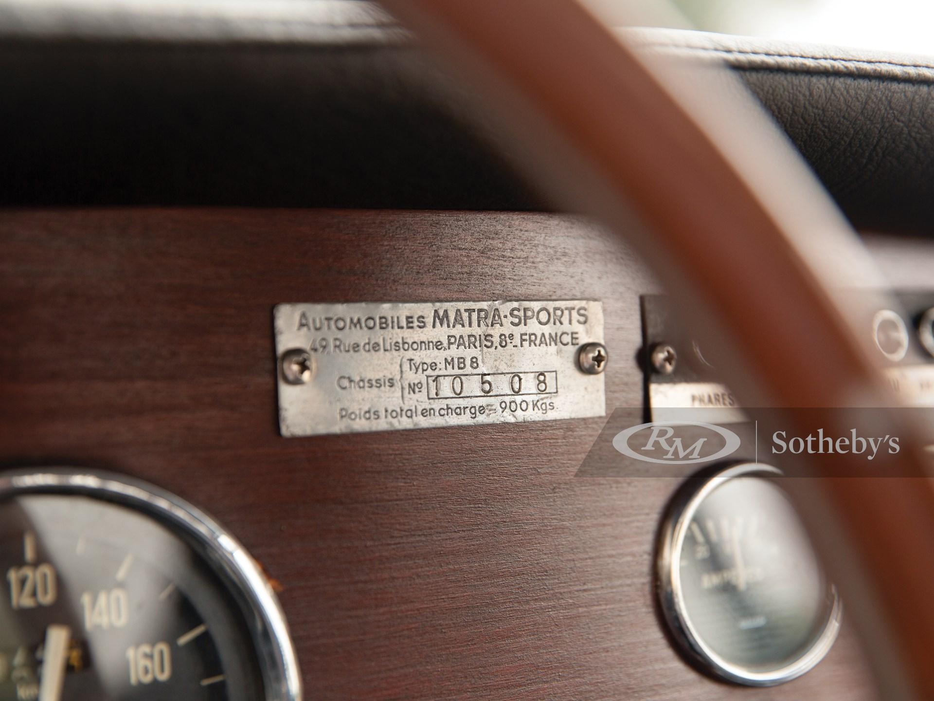 1967 Matra Djet V  -