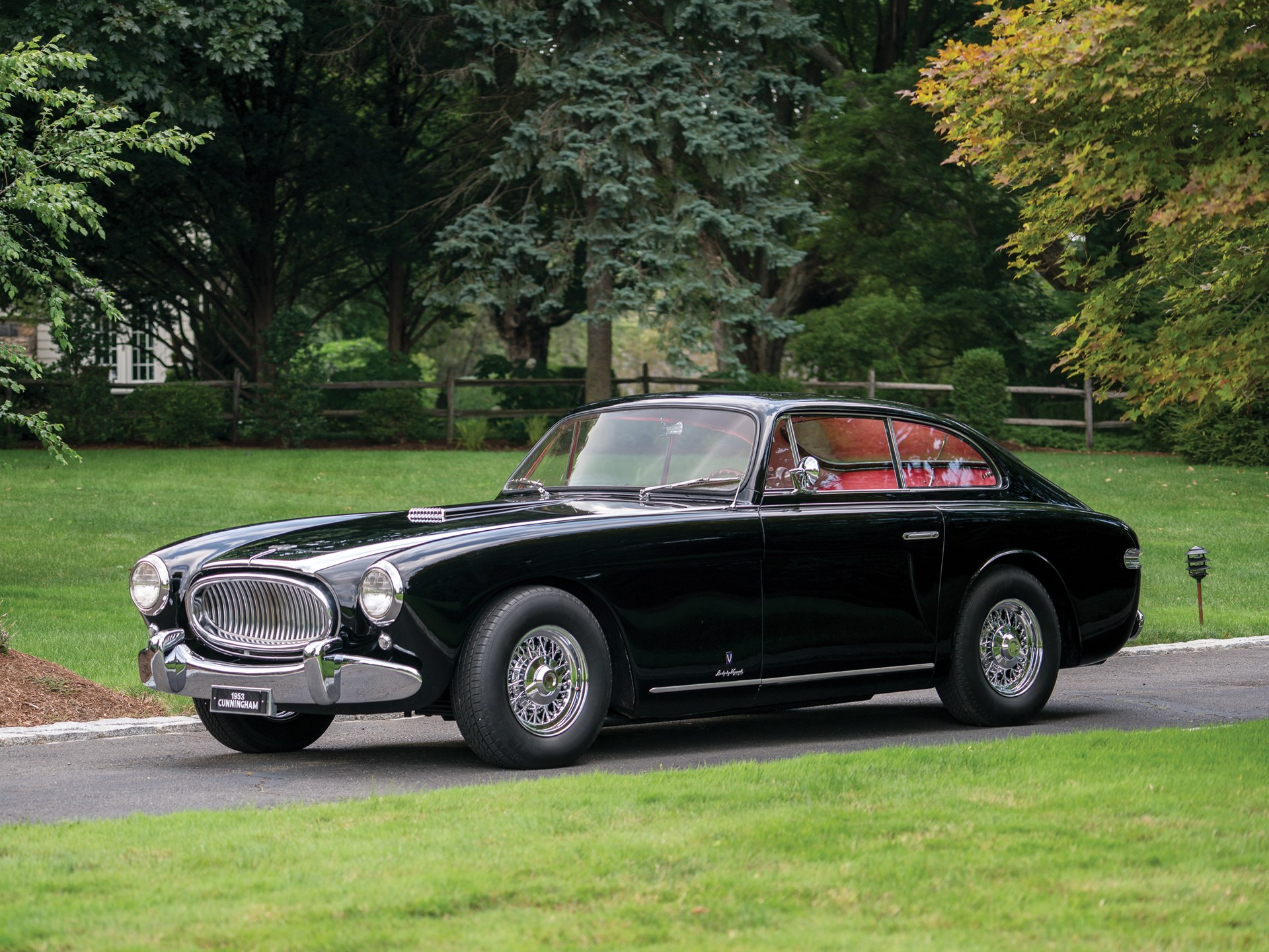 1953 Cunningham C 3 Coupe By Vignale