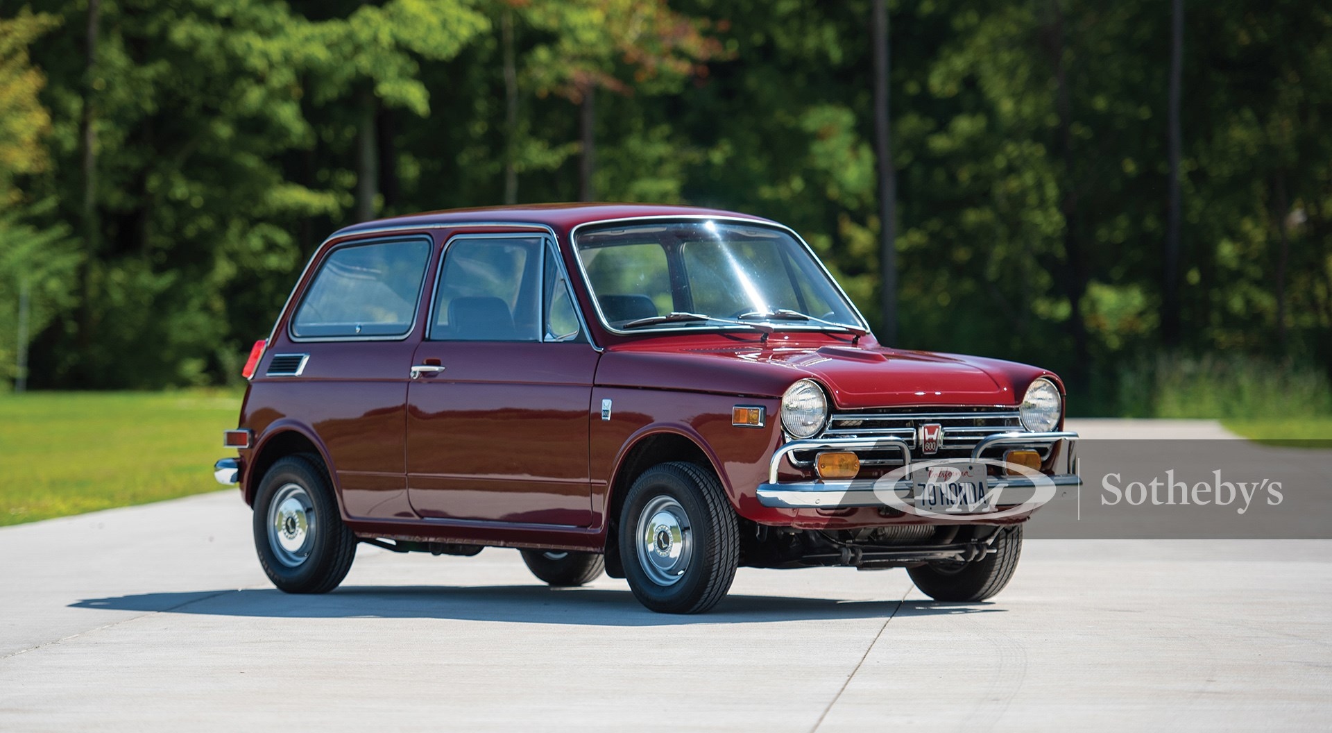 RM Sotheby's The Elkhart Collection 2020, Blog, 1970 Honda N600