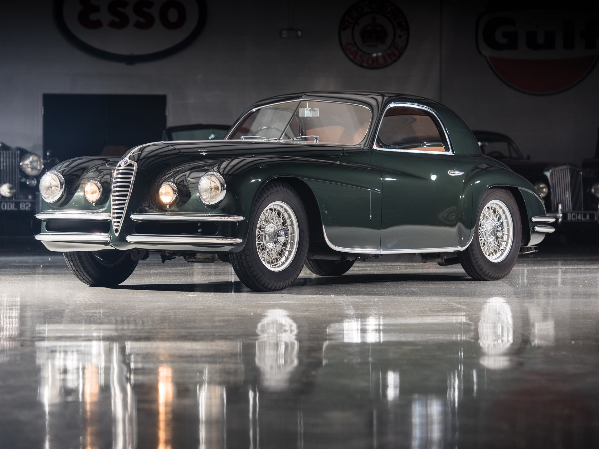 1950 Alfa Romeo 6C 2500 SS Coupe by Touring
