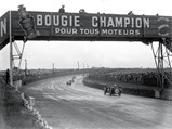 1934 MG PA/B Le Mans  - $Chassis 1711 racing under the famous bridge at Le Mans in 1935.