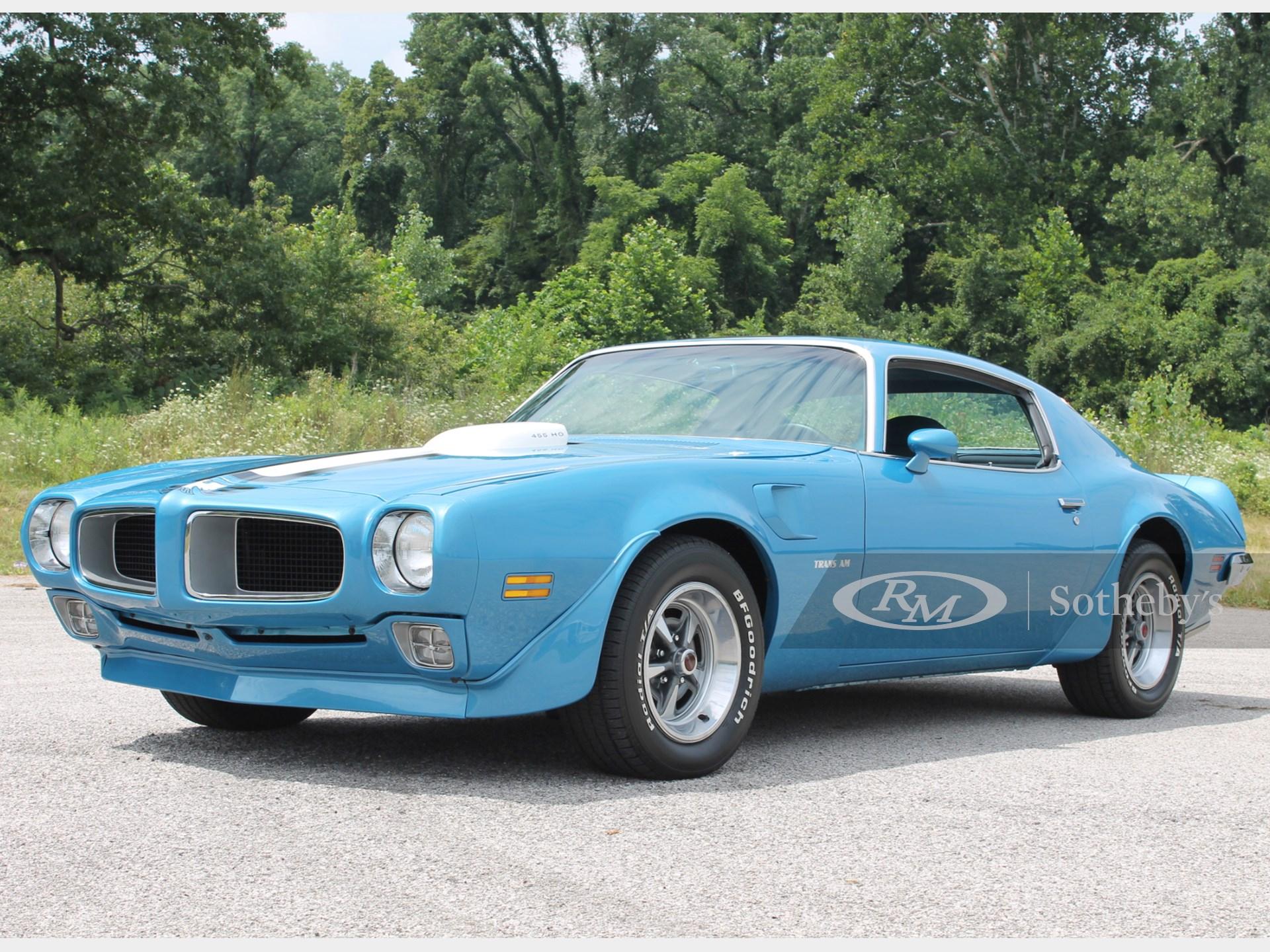 1971 Pontiac Trans Am 455 H.O