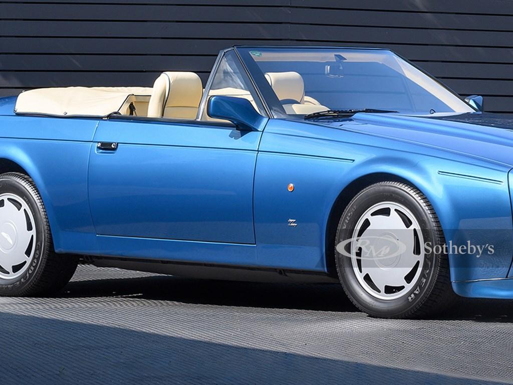 1988 Aston Martin V8 Volante Zagato offered at RM Sothebys London Collector Car Live Auction 2021