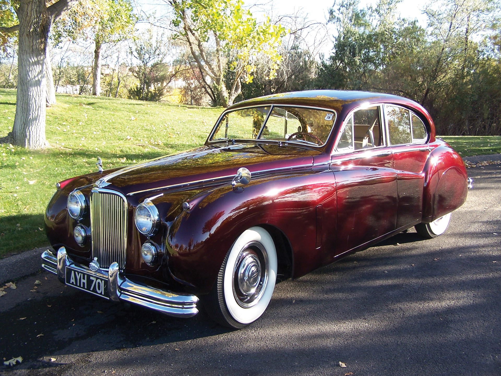 RM Sotheby's - 1953 Jaguar Mark VII   Automobiles of Arizona 2010