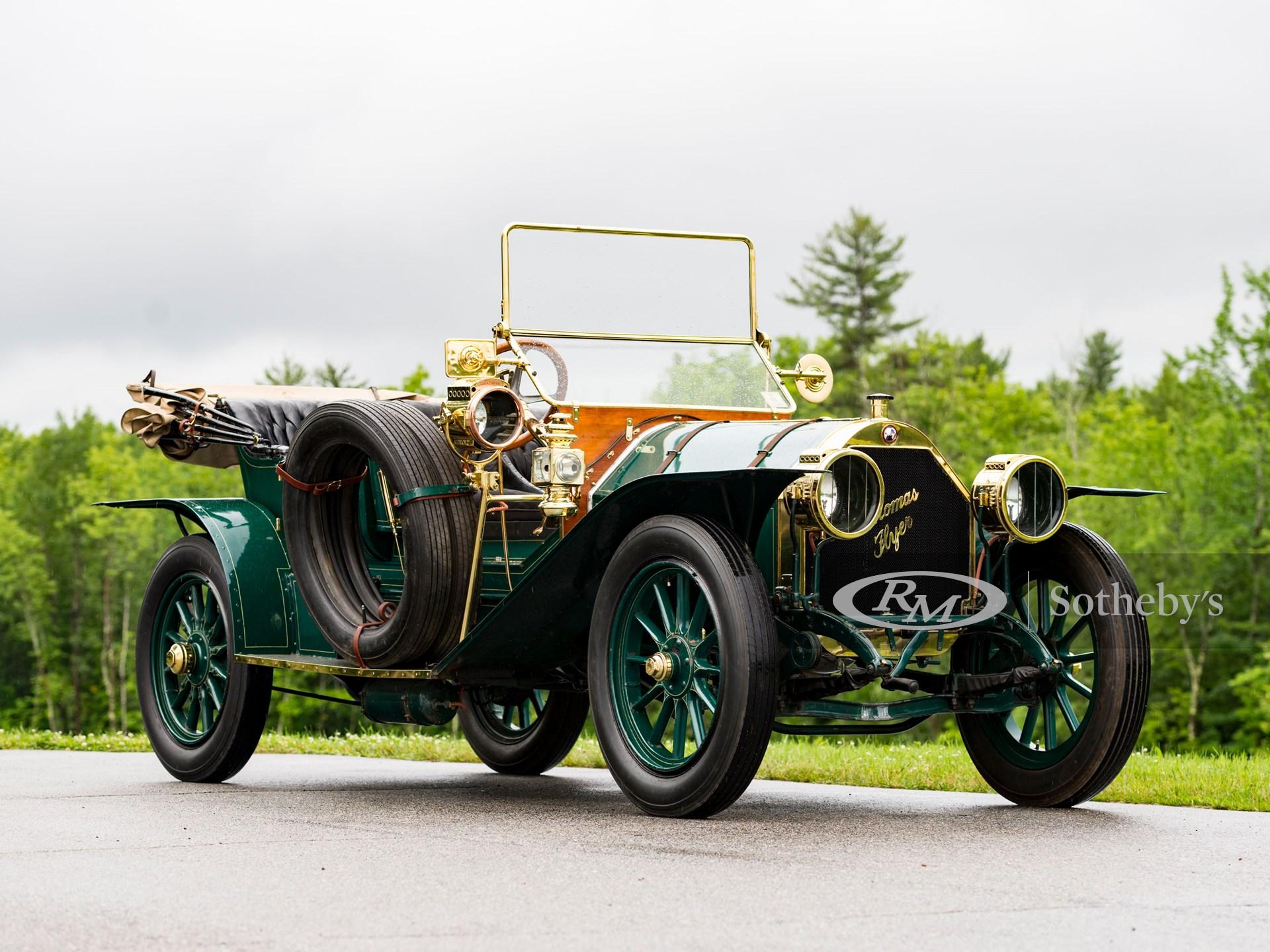 1910 トーマス モデル M-6-40 フライアバウト