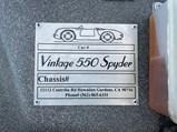 1957 Porsche 550 Spyder Replica by Vintage Motorcars of California - $