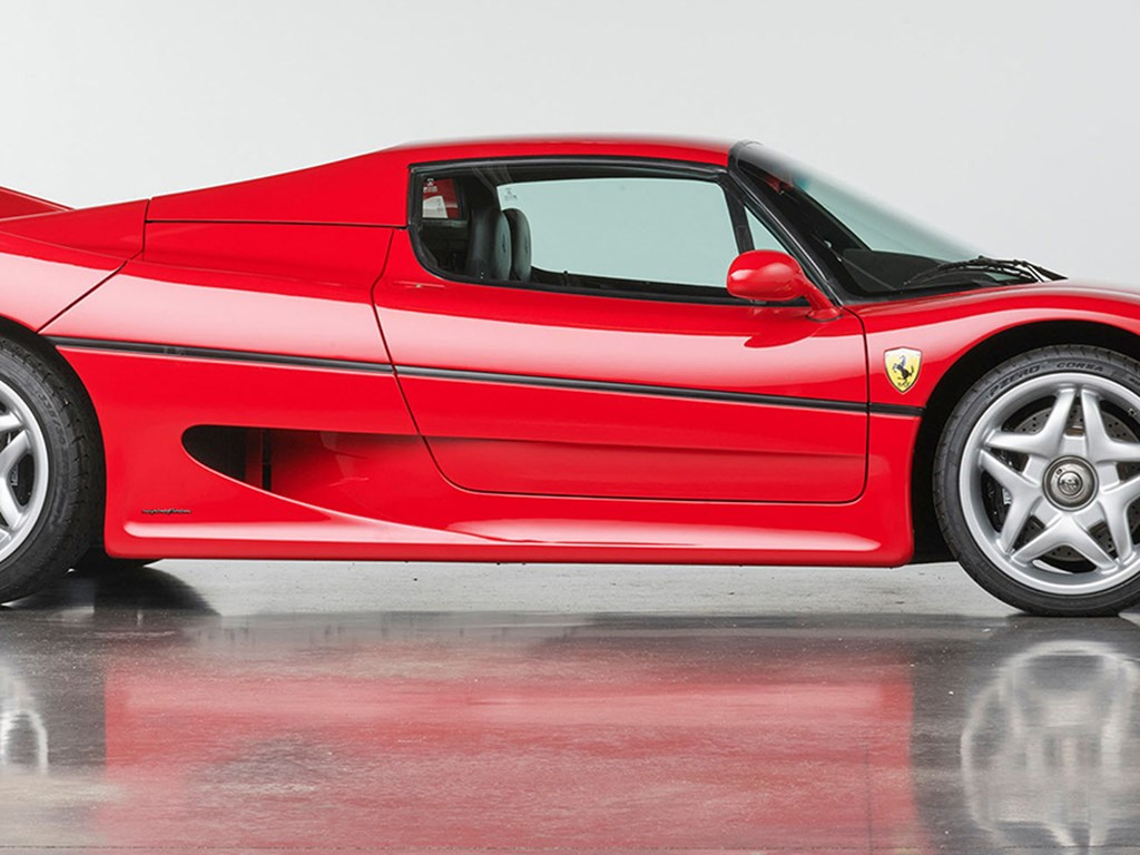 1995 Ferrari F50 available at RM Sothebys Amelia Island Live Auction 2021
