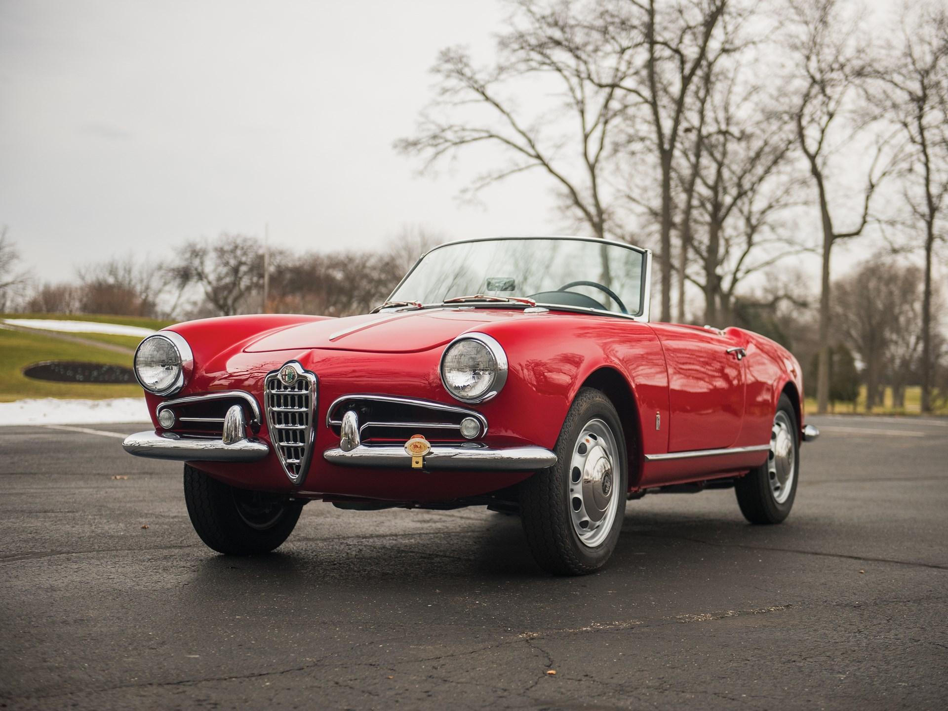 1959 Alfa Romeo Giulietta Spider By Pinin Farina