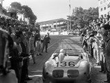 1960 Porsche 718 RS 60 Werks  - $Stirling Moss at the wheel of the RS 60 at the 1961 Targa Florio.