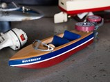 Assortment of Toy Boats and Model Boat Engines - $
