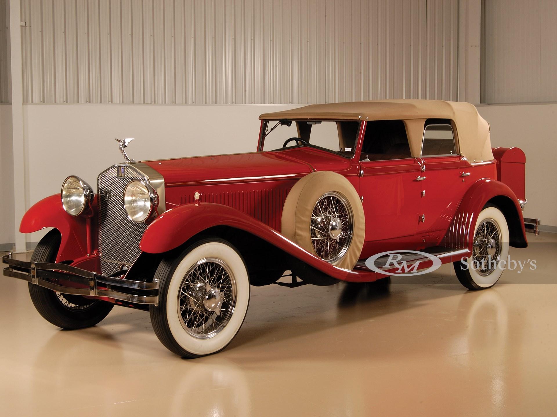 1930 Isotta-Fraschini 8A Convertible Sedan by Castagna