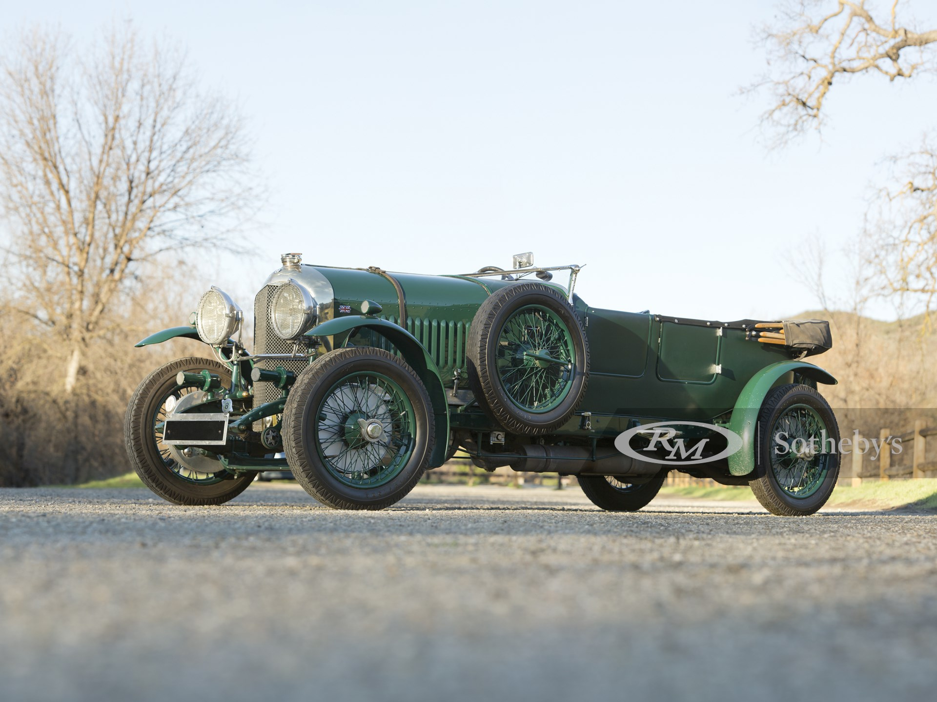 1929 Bentley 4½-Litre Open Tourer by Vanden Plas