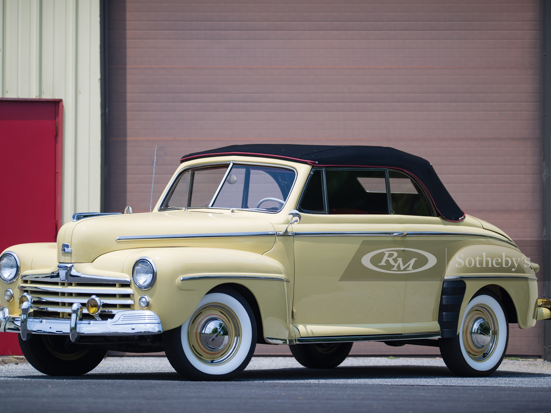 1948 Ford Super Deluxe Convertible Coupe Hershey 2015 Rm Auctions
