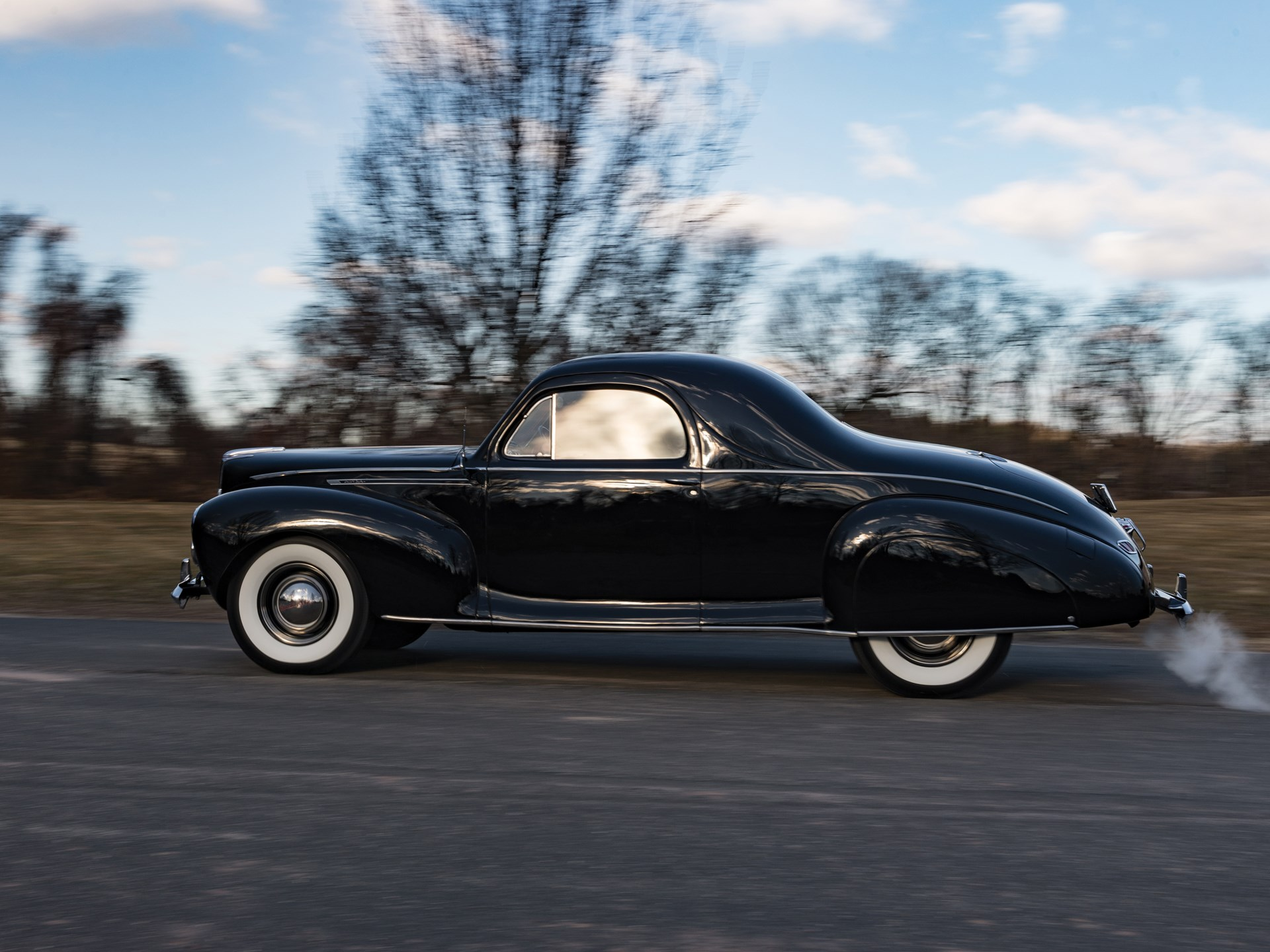 Rm Sotheby S 1940 Lincoln Zephyr V 12 Three Window Coupe Fort