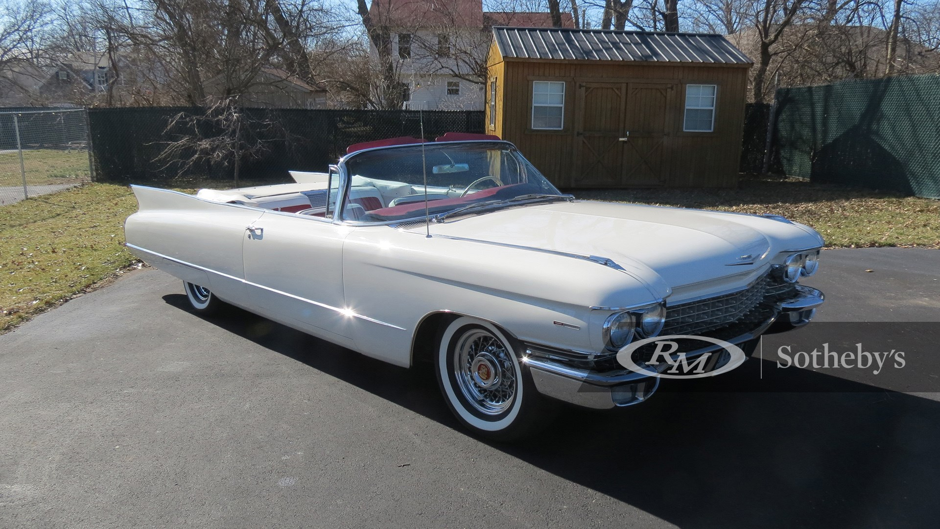 1960 Cadillac Series 62 Convertible available at RM Sotheby's Online Only Open Roads April Auction 2021