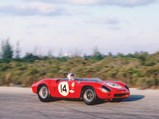 1962 Ferrari 268 SP by Fantuzzi - $Chassis no. 0798 at speed during the 1963 Bahamas Speed Weeks.
