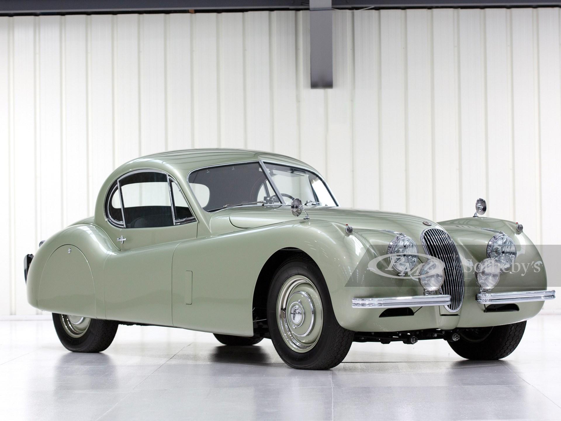 1952 Jaguar XK 120 Fixed Head Coupé  -