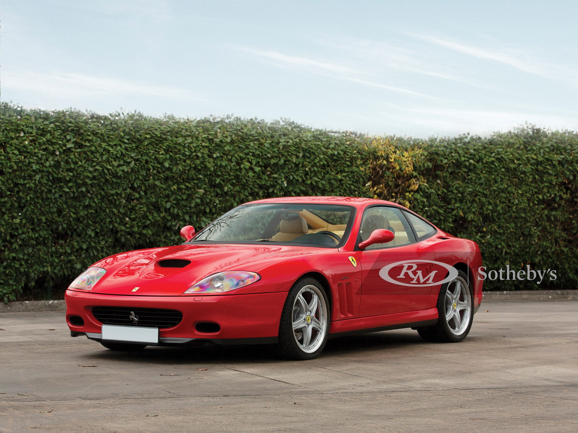 2002 Ferrari 575m Maranello The European Sale Featuring The Petitjean Collection Rm Online Only
