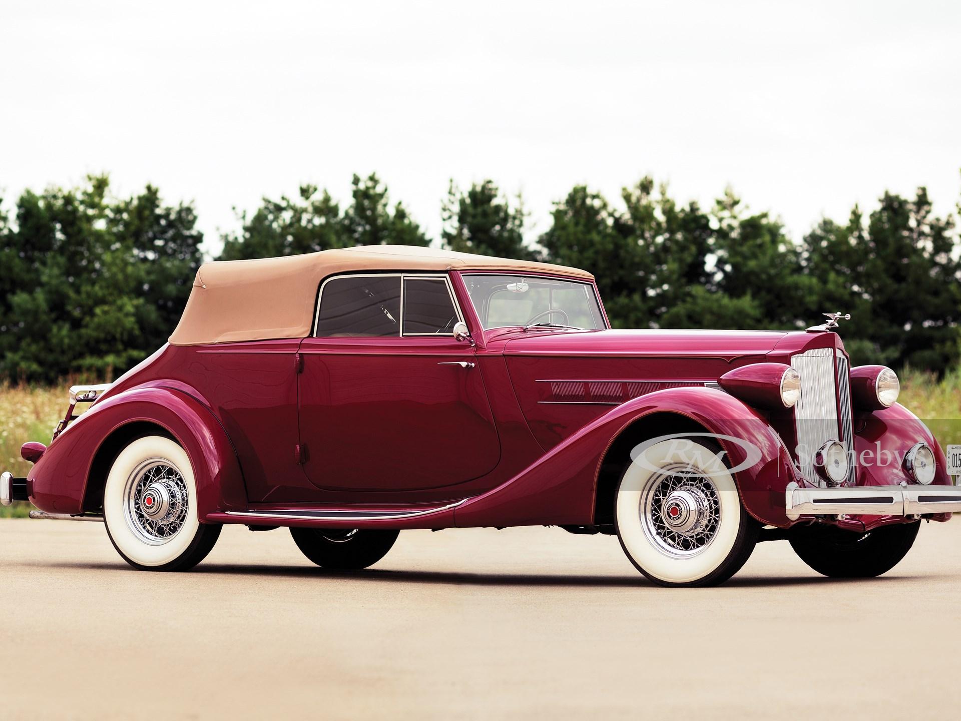 1935 Packard Eight Convertible Victoria