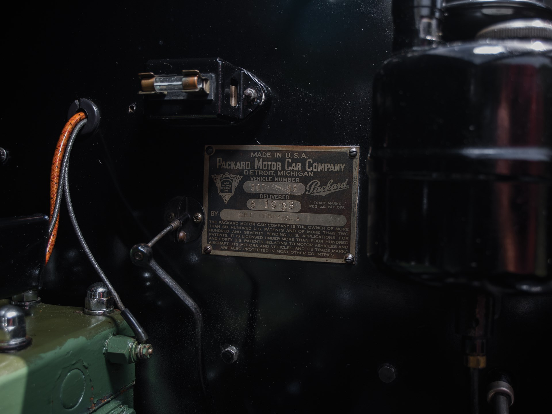 Packard Motor Wiring Diagram Sample 1950 Cadillac Rm Sothebys 1932 Eight Phaeton City 2015 352 V8 Engine