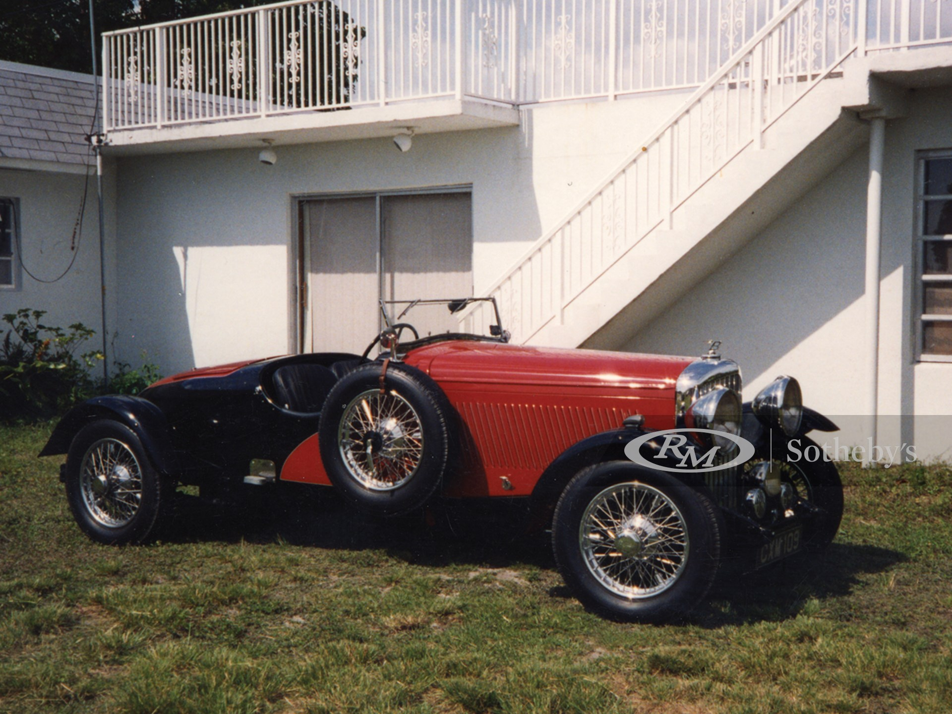 1936 Bentley 4 1/4 Litre Speedster