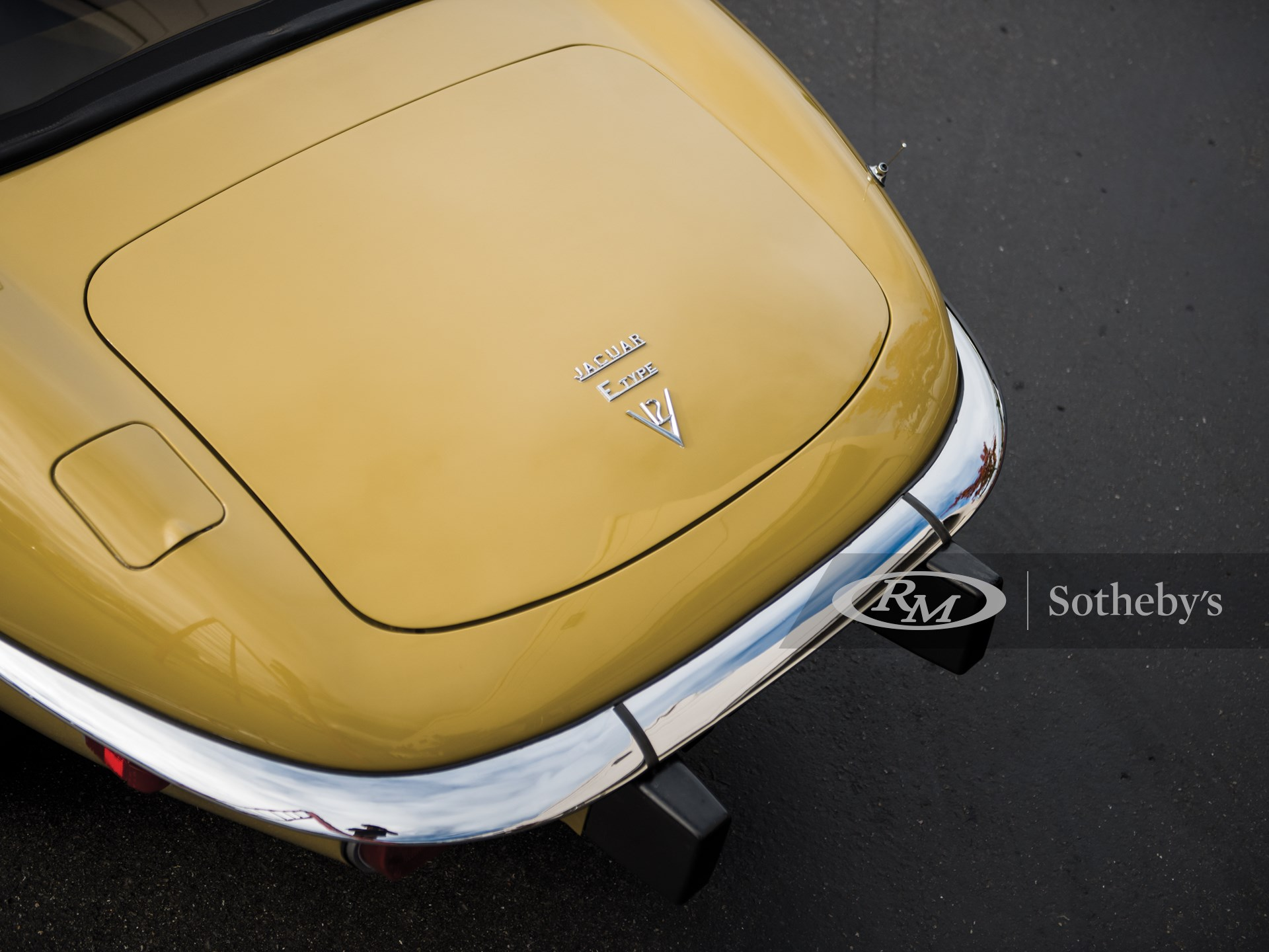 1974 Jaguar E-Type Series 3 V-12 Roadster  -