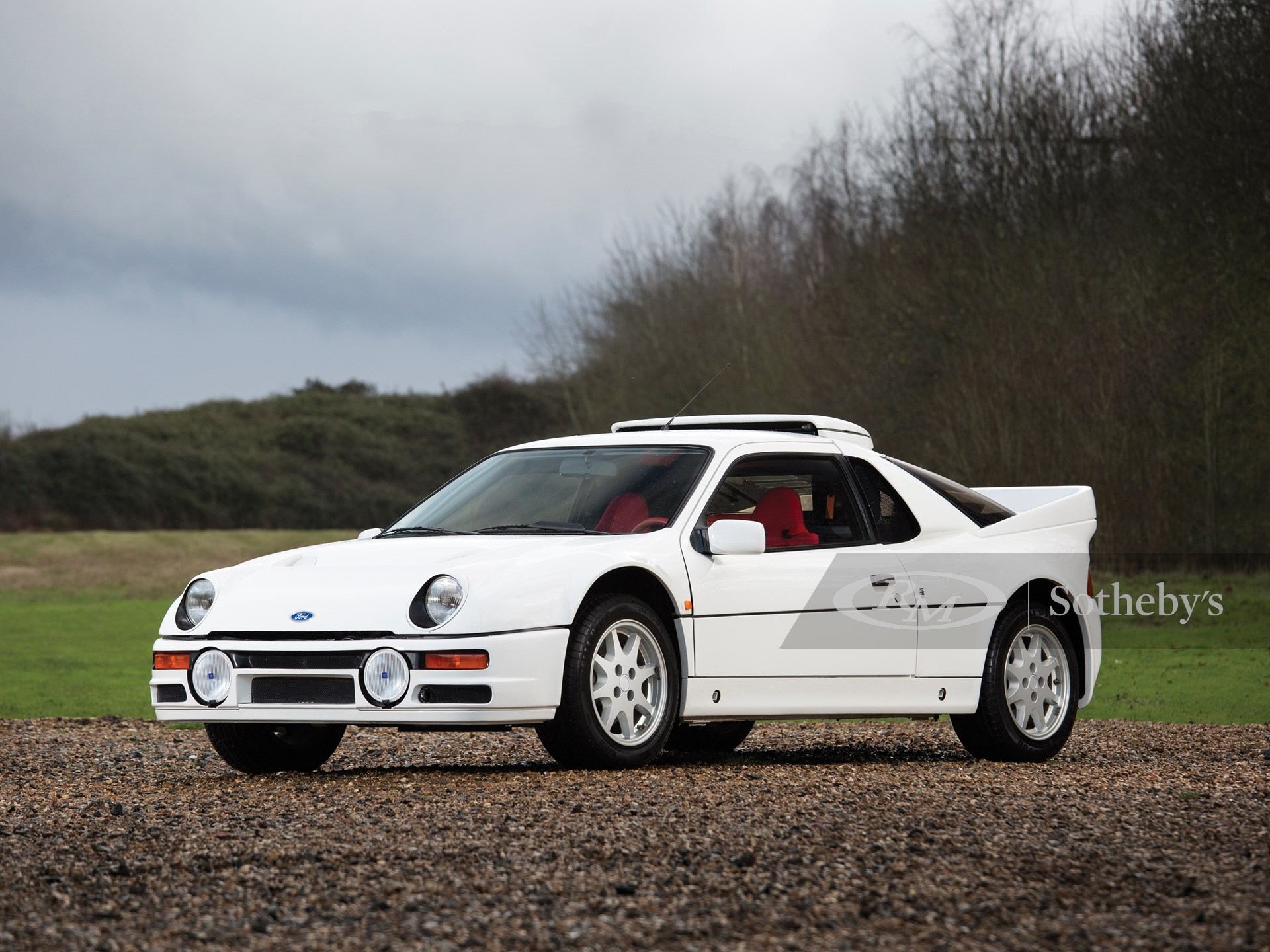 1985 Ford Rs200 Evolution Amelia Island 2016 Rm Sotheby S