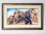 """Koan"" Watercolor by Christopher Woolley and Micky Dymond Helmet - $"