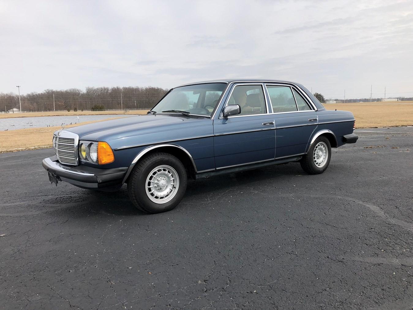 1983 Mercedes-Benz 300 D Turbo Diesel