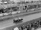 1955 Triumph TR2 Works Experimental Competition  - $The Works Experimental Competition TR2 driven to 14th place overall, 5th in class, at Le Mans in 1955.