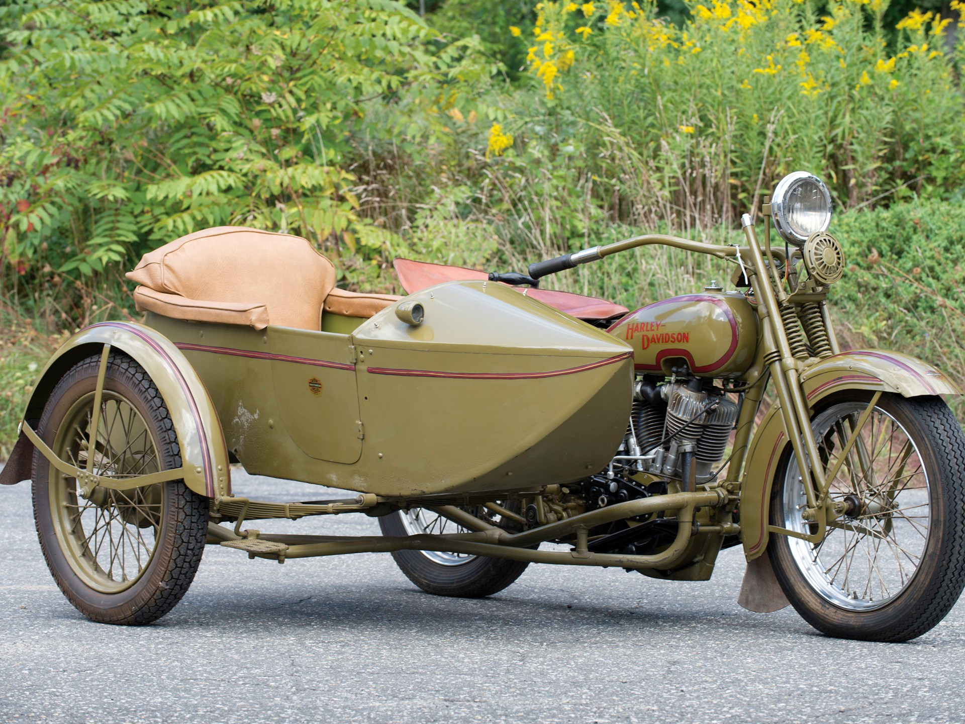 RM Sotheby's - 1925 Harley-Davidson Model JD with Sidecar