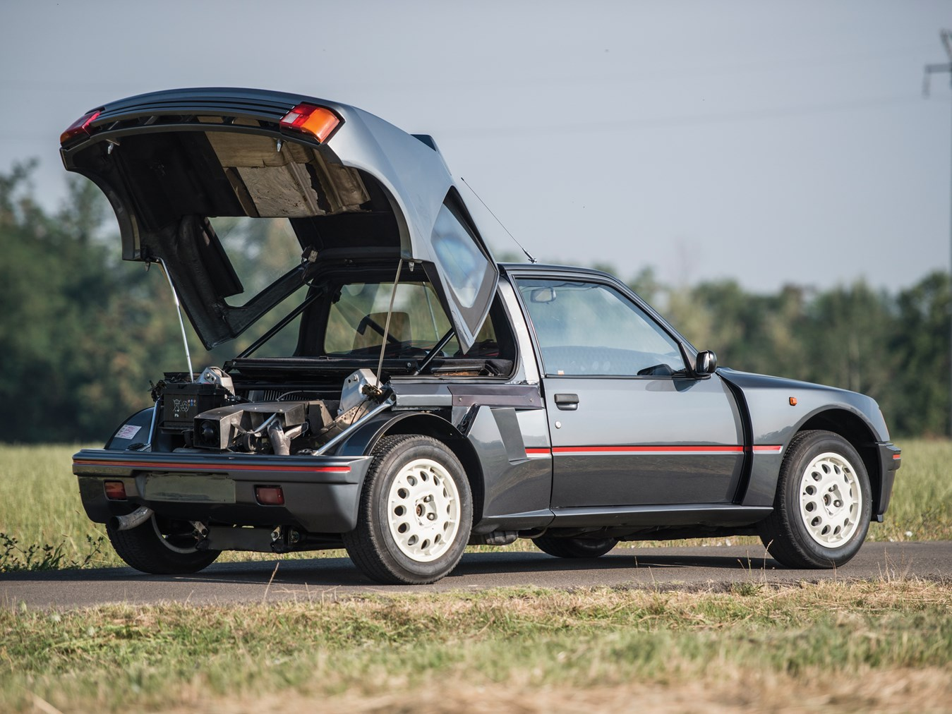 rm sotheby 39 s 1984 peugeot 205 turbo 16 london 2015. Black Bedroom Furniture Sets. Home Design Ideas