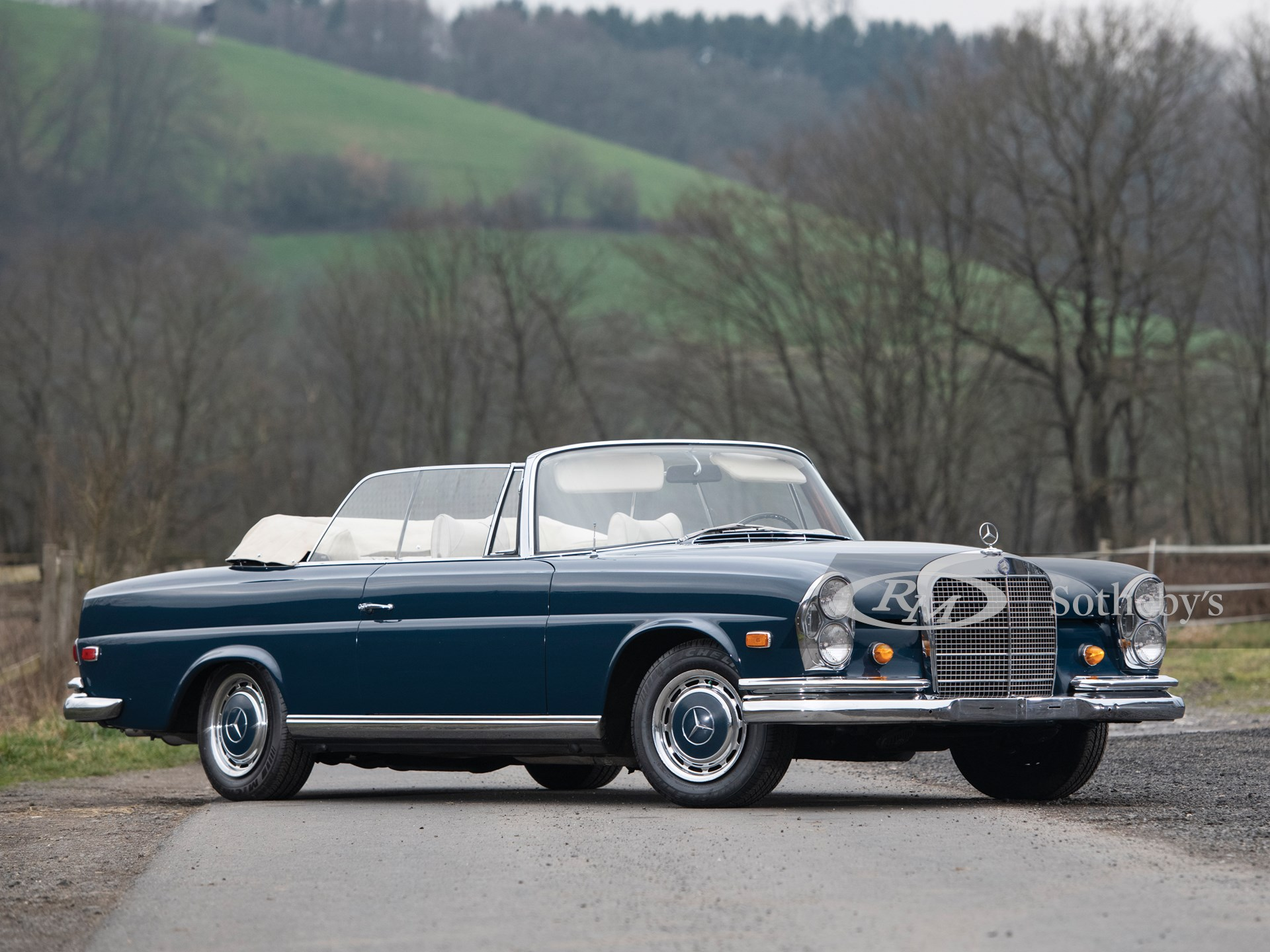 1969 Mercedes Benz 280 Se Cabriolet The European Sale Featuring The Petitjean Collection Rm Online Only