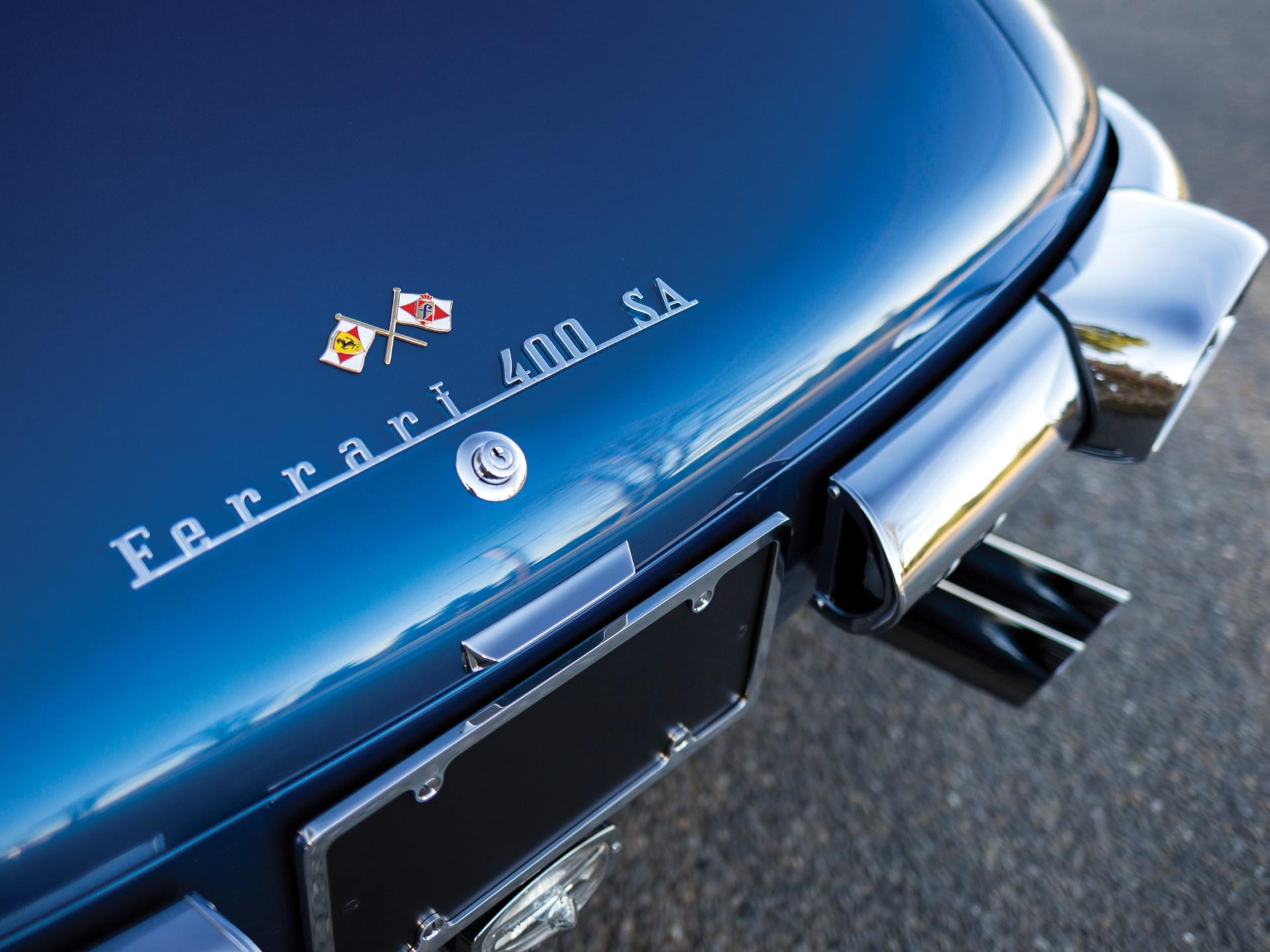1962 Ferrari 400 Superamerica LWB Coupe Aerodinamico by Pininfarina
