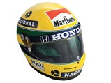 Ayrton Senna McLaren Rheos Helmet, 1990 - $