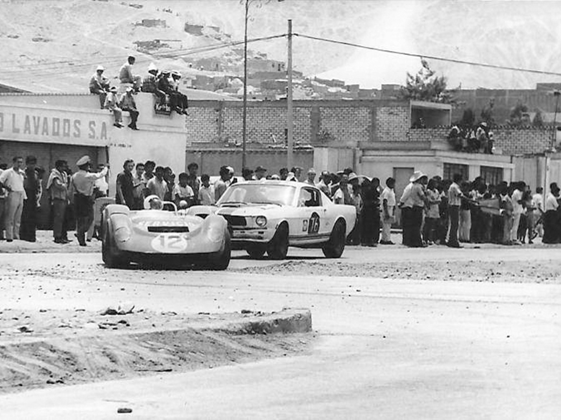 This GT350 R during its time competing in Peru.
